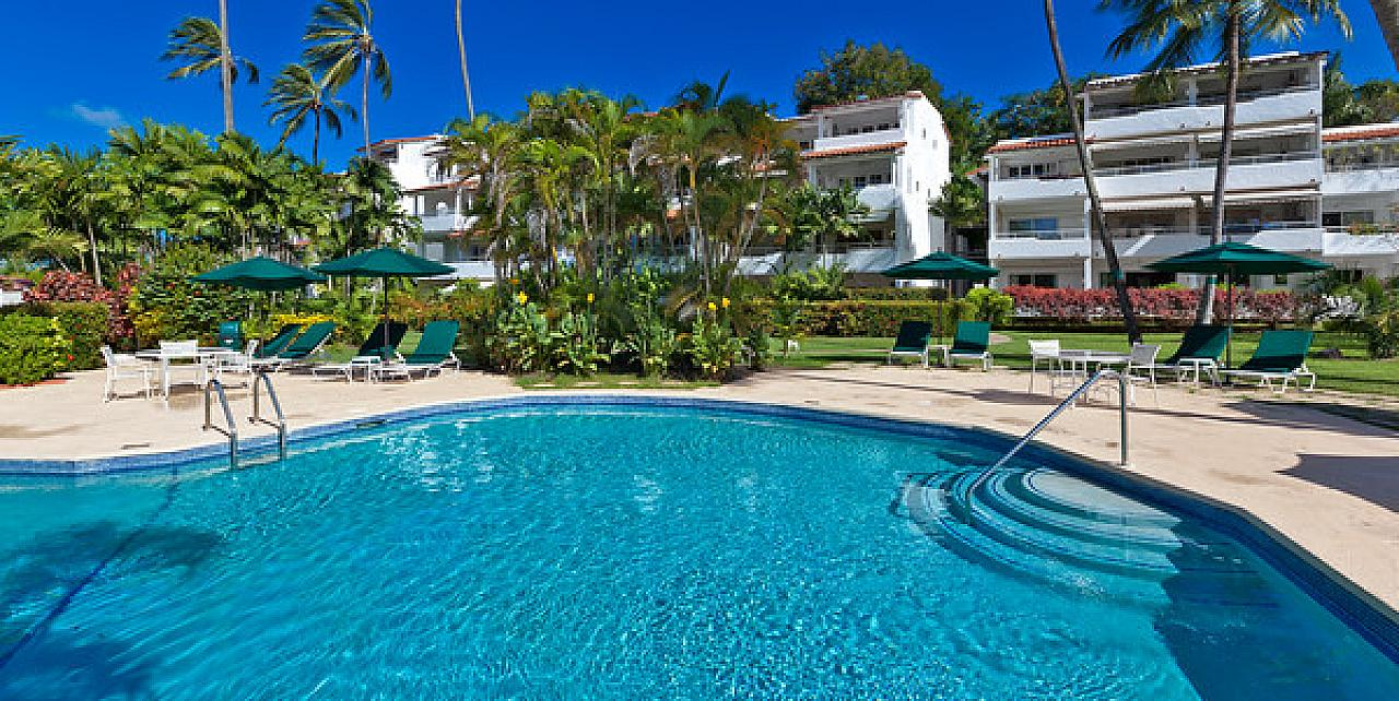 Glitter Bay Barbados - Main Image Poolside