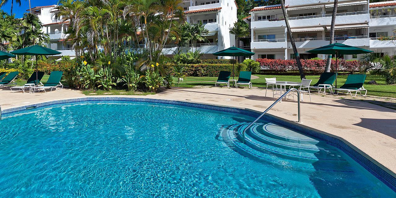 Barbados, Glitter Bay 409 Penthouse - Communal Pool