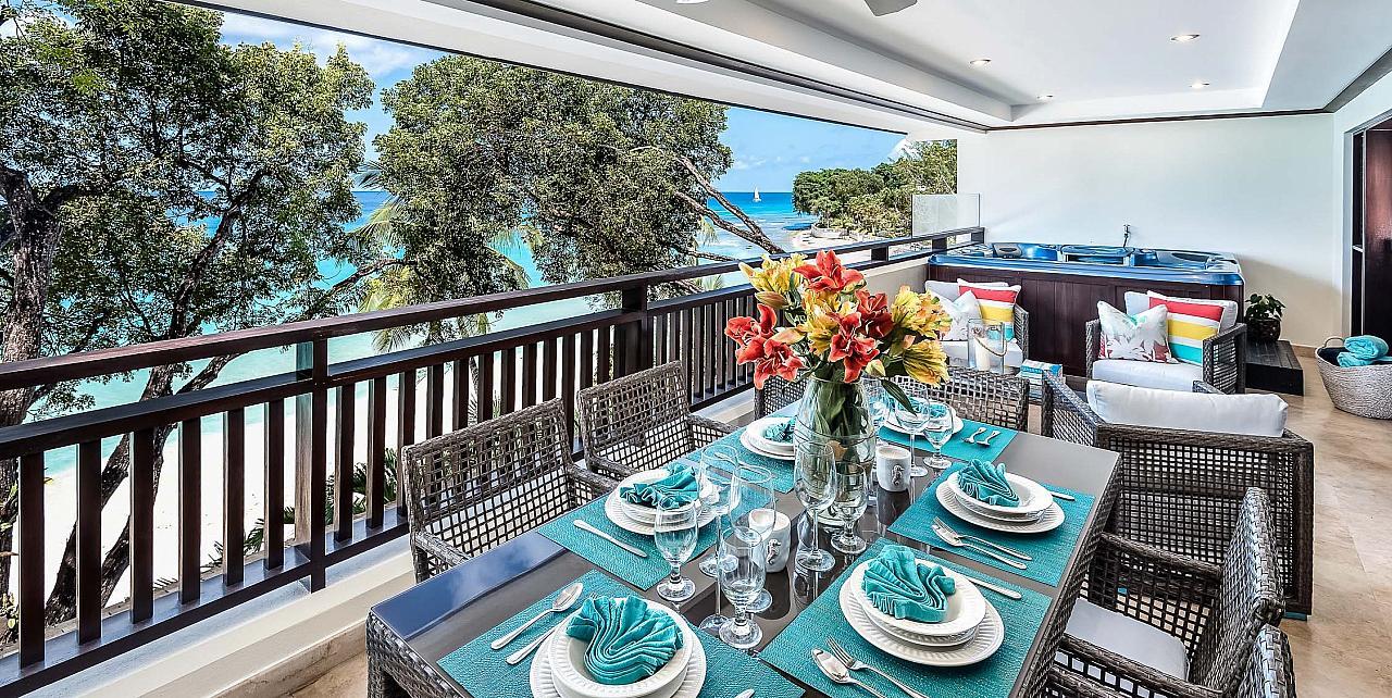 Barbados, Coral Cove 11 Apartment - Patio