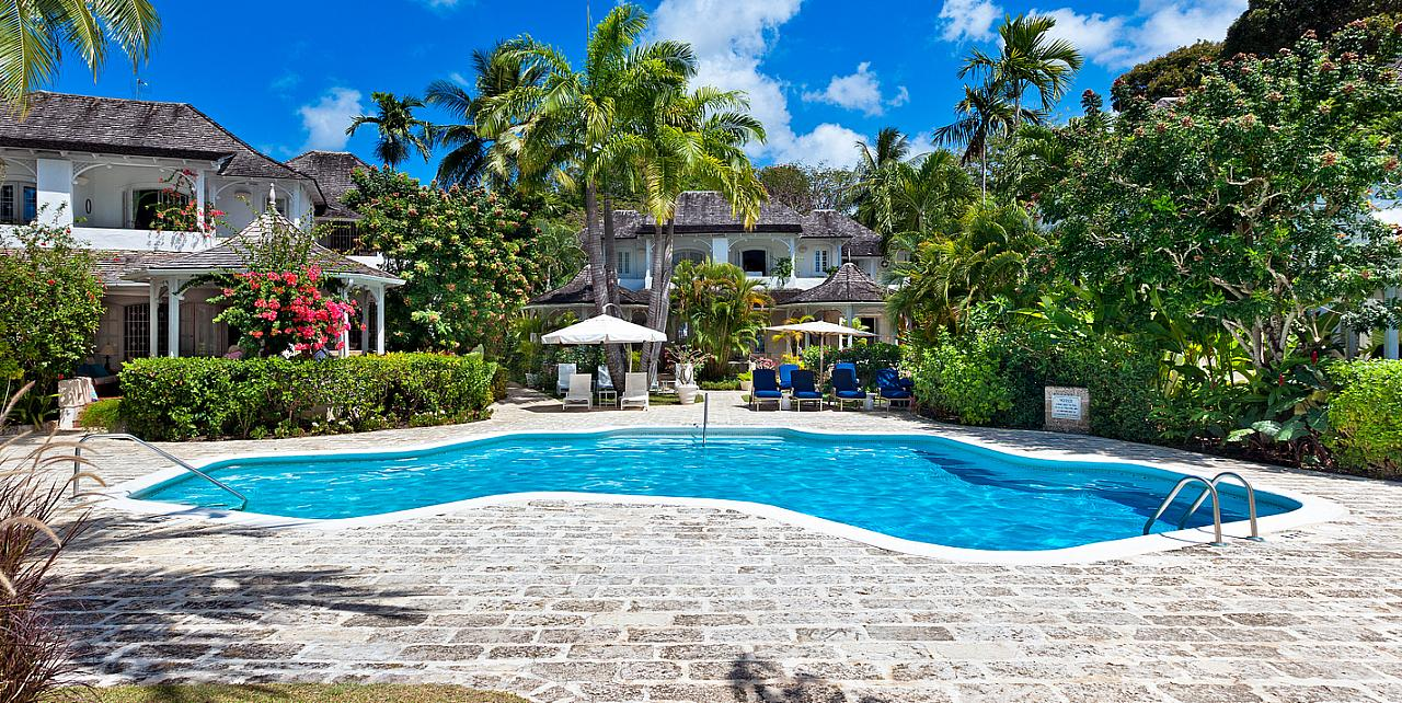 Barbados, Emerald Beach Apartment No.3 - Communal Pool