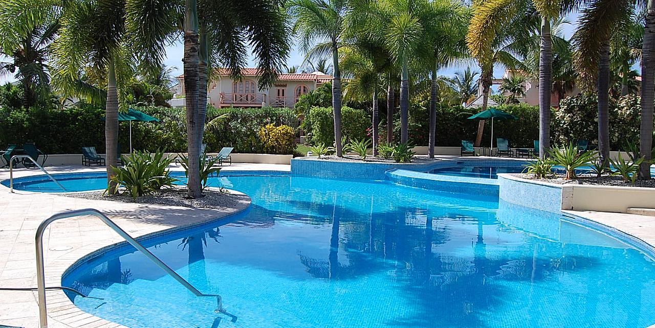 Barbados, Sugar Hill Tennis Village Apartment D117 - Communal Pool