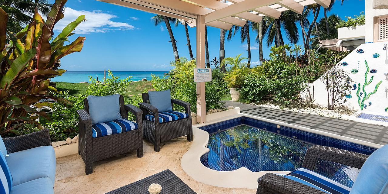 Reeds House 1 beachfront apartment Barbados