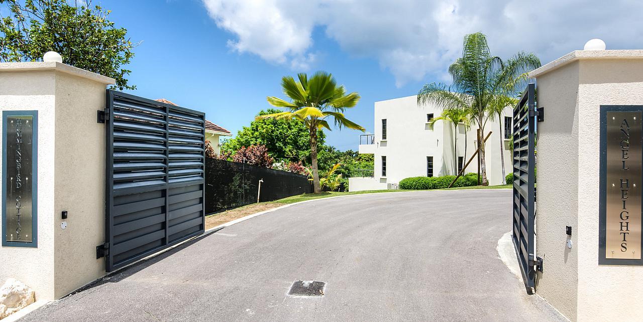 Barbados, Angel Heights Villa Entrance