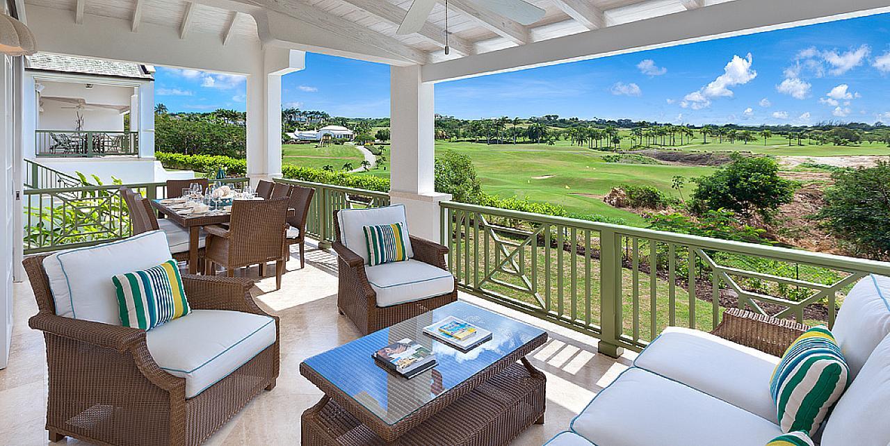 Barbados, Sugar Cane Ridge 22 Mimosa Villa - Patio