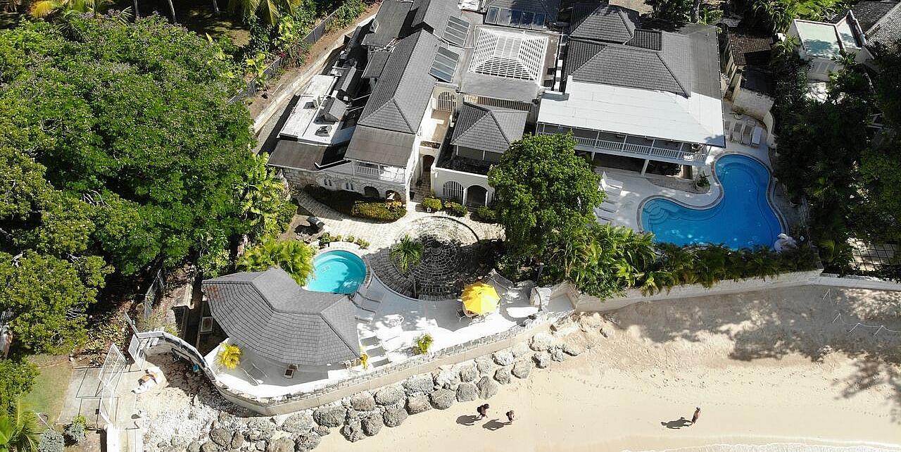 Barbados, Sandy Lane Landfall Villa - 6 BEDROOM BEACHFRONT VILLA