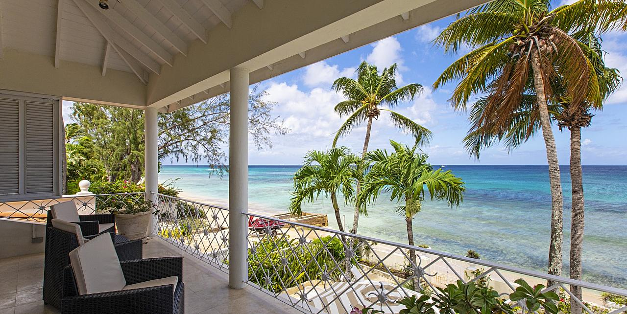 Barbados, 3 Bedroom Beachfront Villa Milord