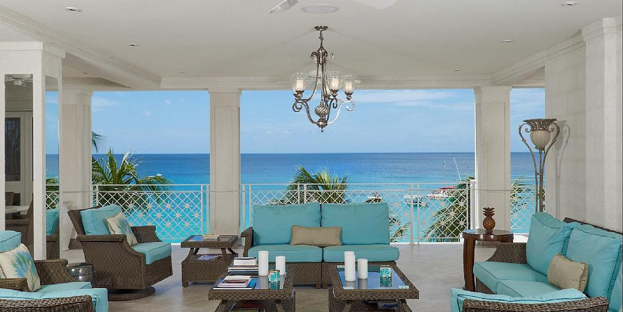 Smugglers Cove 6 luxury beachfront apartment Barbados
