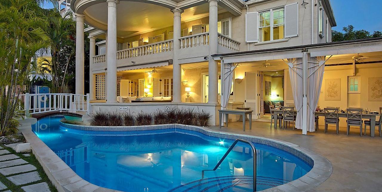 Barbados, New Mansion Villa