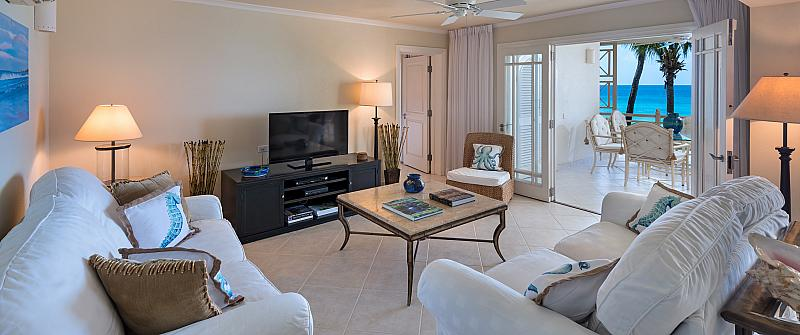 Smugglers Cove No 7 is a stunning 4 bedroom penthouse apartment is presented over 6,000 square feet of impeccable living space. From the impressive entrance with breathtaking views of the Caribbean Sea to the blue sky above. The Penthouse No 7 at Smugglers Cove Barbados features cool marble floors throughout, high vaulted ceilings, grand doorways, leading edge kitchen, stylish bathroom and central air conditioning - this luxury apartment is quite simply the best of the best. The furniture in...